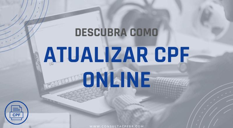 Atualizar CPF Online - ConsultaCPFbr.com