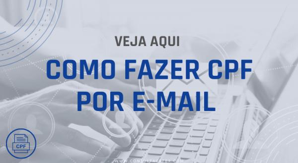 Como Fazer CPF por Email - Consultacpfbr.com